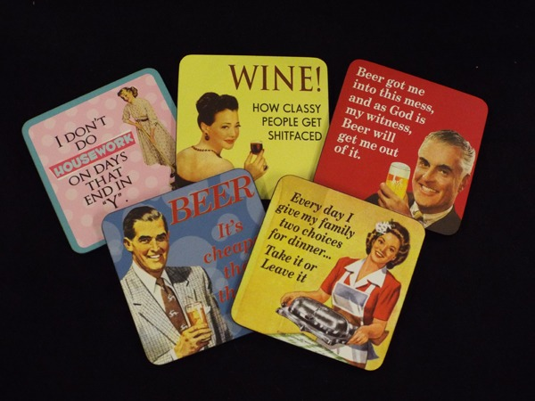 13 Retro Coasters Christmas Gift Idea at Kershaw;s Garden Centre-2