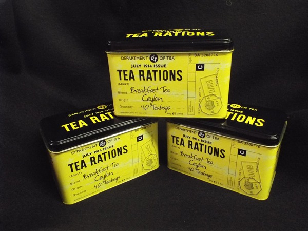 16 Tea Rations