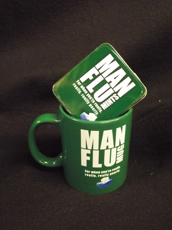 17 Man flu mug & mints