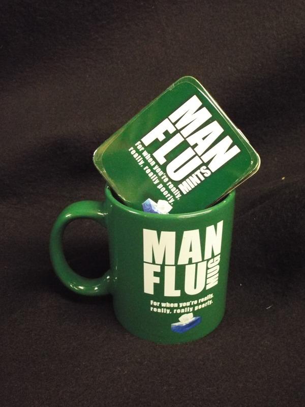 17 Man flu mug & mints