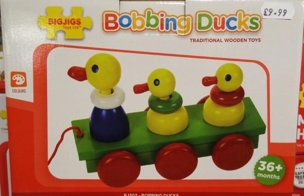 21 Bobbing Ducks