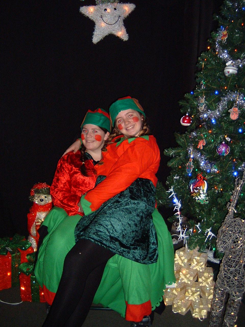 Jingle - what do you call Father Christmas' dog?  Jangle Santa Paws!