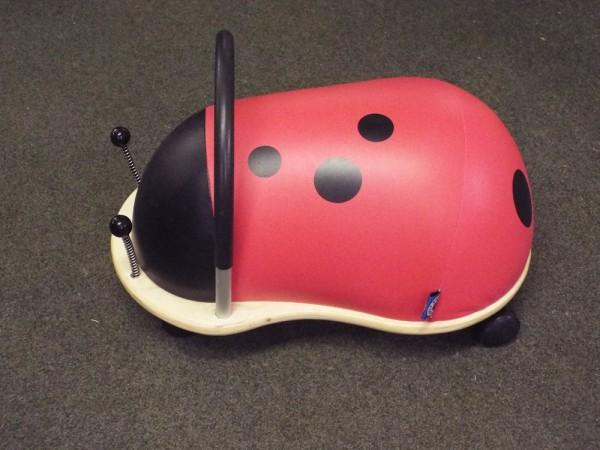 Ladybird wheelybug at Kershaw's Garden Centre