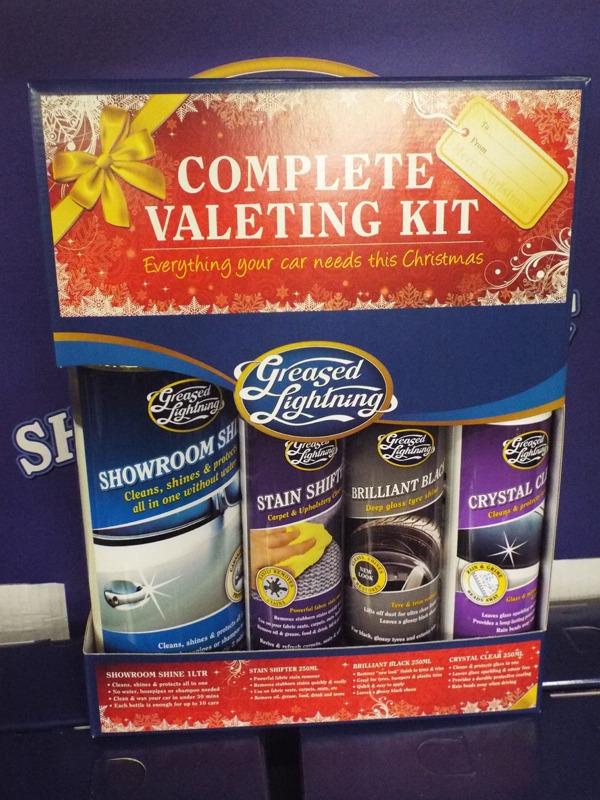 23 Complete valeting Kit at Kershaw's GC