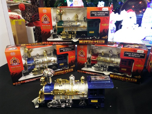 45 Motive Train at Kershaw's Garen Centre