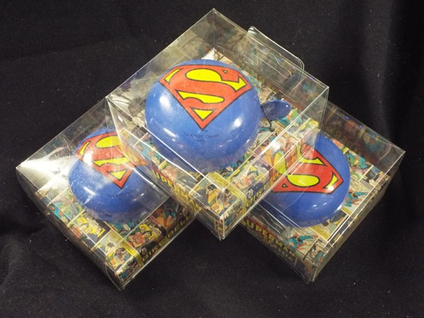 64 Superman 64 Bicycle Bell at Kershaw's Garden Centre