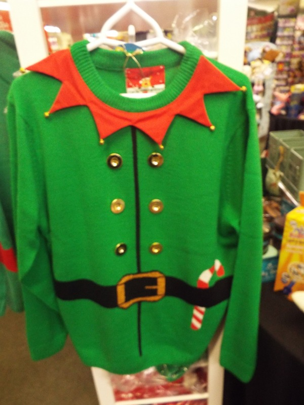 Christmas jumpers at Kershaw's Garden Centre