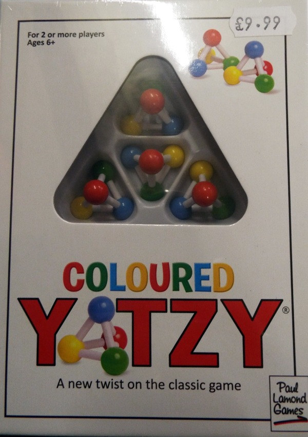 Coloured Yatzy at Kershaw's Garden Centre